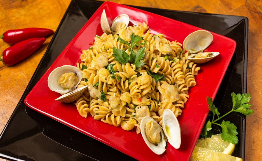Cockle & Whole Wheat Pasta Vongole