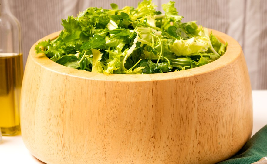 Mixed Greens in Ancient Dressing