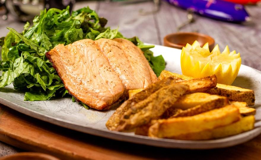 Batter-less Fish & Chips