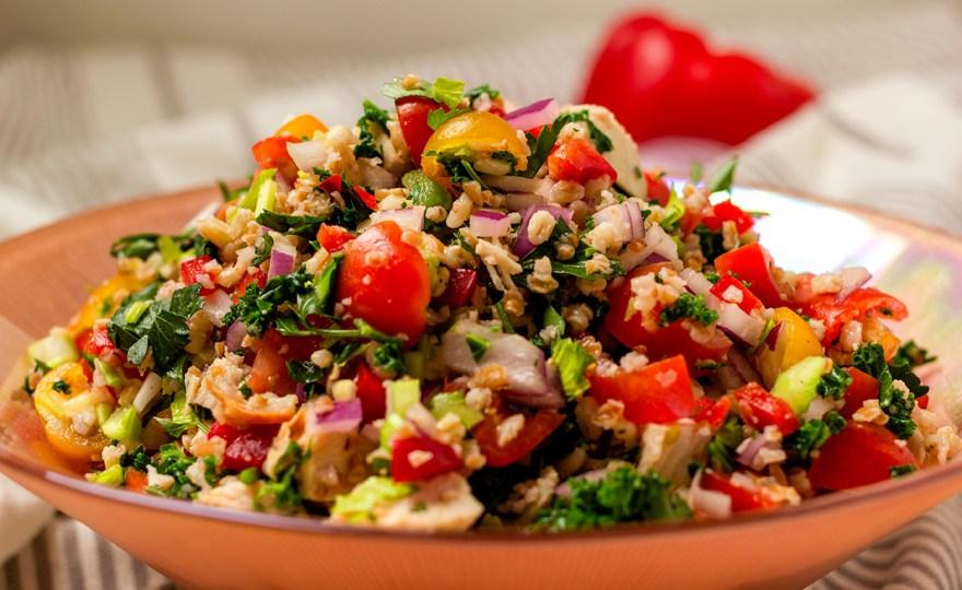 Chicken & Whole Grain Salad