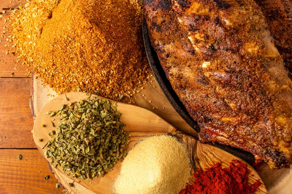 Spiced BBQ rub condiment as prepared by Food Over 50