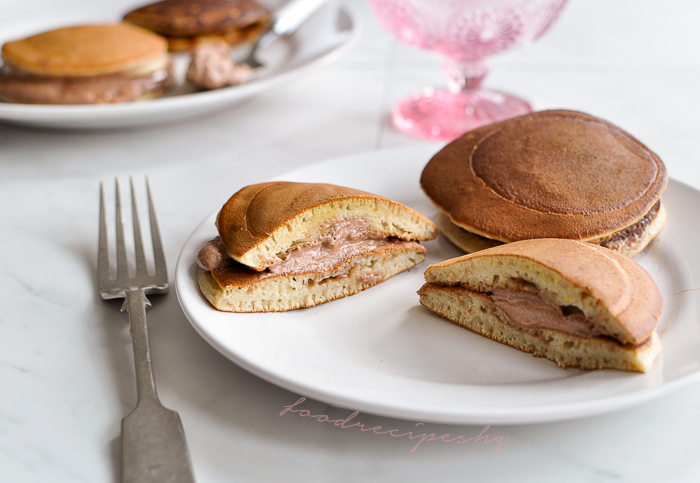 Nutella dorayaki japanese sandwich pancake filled with creamy does this mean a confess day or a pancake day to you if it wasnt for wikipedia i did not know that today i am supposed to make a ccuart Images
