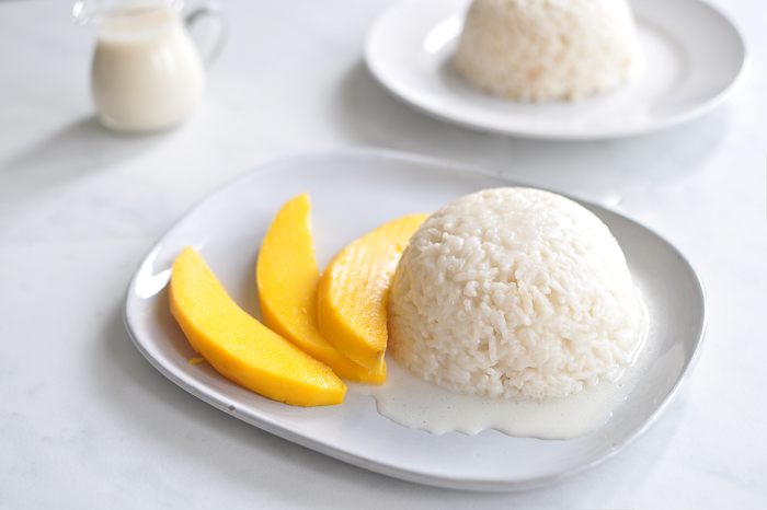 My mango sticky rice food recipes hq i succeeded at making a good sticky rice instead all in all the cooking procedure is similar to the one to make sushi rice ccuart Gallery