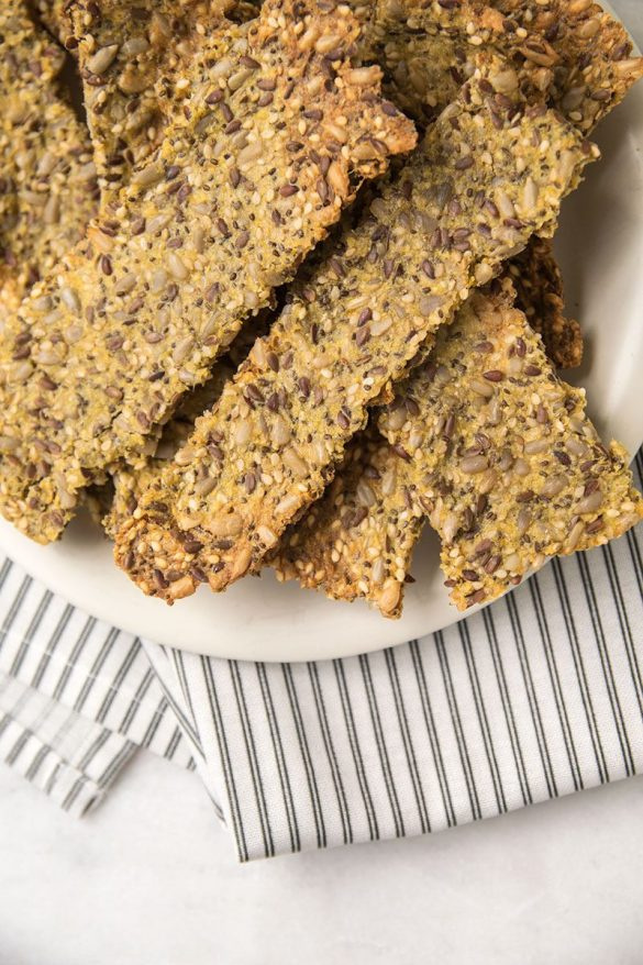 Knäckebrot Brot selber machen glutenfrei Rezept