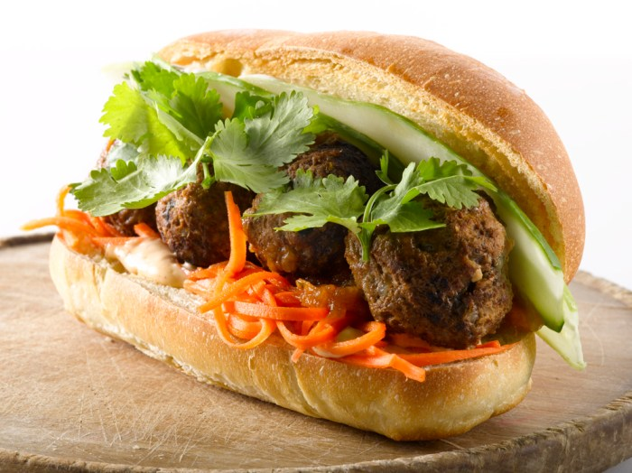 Num Pang Veal Meatball Sandwich Recipe