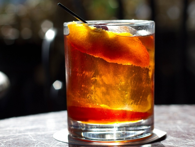 Rum Old Fashioned Recipe   Food Republic