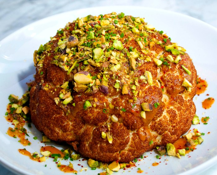 Whole Head Roasted Cauliflower Recipe