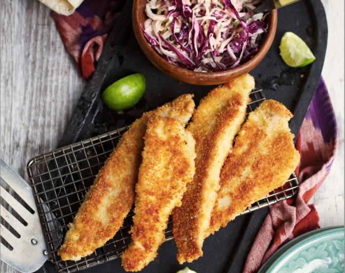 fried catfish tacos