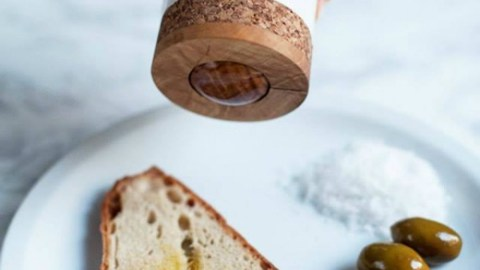 Genius! We Approve! An Olive Oil Roller Engineered For Bread.