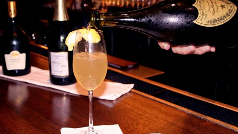 A French 75 Cocktail With Cognac? You Better Believe It, And Check Your History.