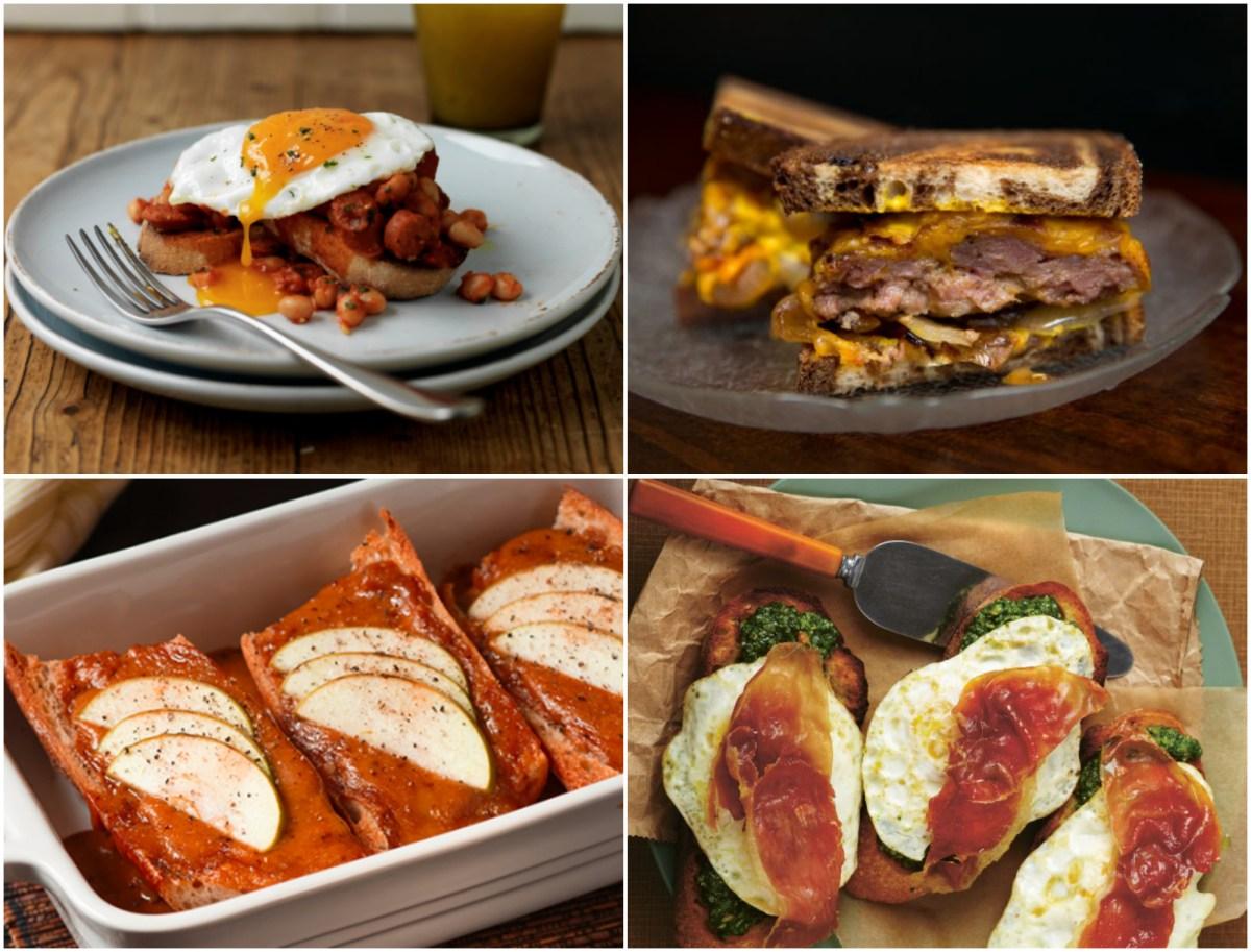 8 Ideas For Dinner On Toast Food Republic