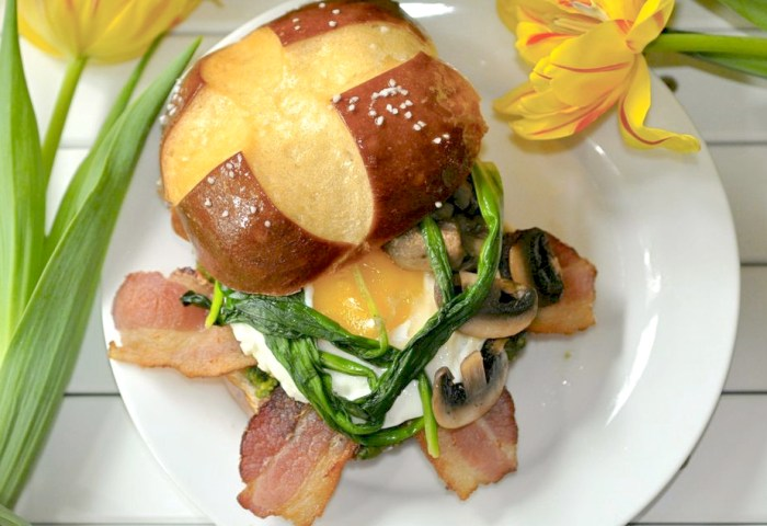 The Ultimate Spring Egg Sandwich