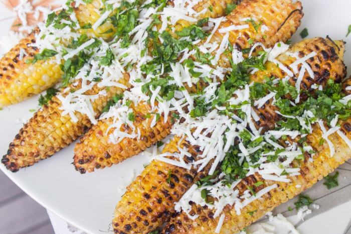 Mexican elote visits India for flavor inspiration.