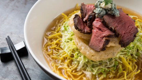 The Benihana Folks Debut Sorba, A Brand-New Bowl Of Noodles
