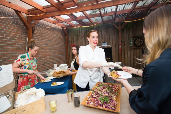 Chef Sara Simmons of Birds & Bubbles