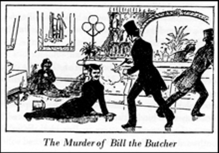 murder of bill the butcher