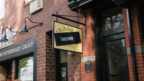 The Copenhagen restaurant Fiskebar set up shop in Brooklyn on Monday night.