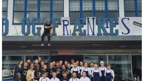 The Frankies team took over Fiskebar in Copenhagen this summer. Now the Danish are returning the favor. (Photo courtesy of the Franks.)