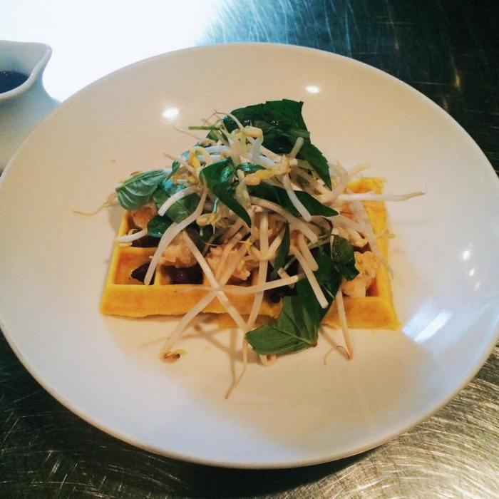 Nightingale 9's banh xeo waffle. (Photo: Nightingale 9/Facebook.)