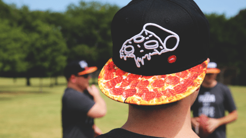 Pizza Hut is now selling snapbacks. (Photos courtesy of Pizza Hut.)