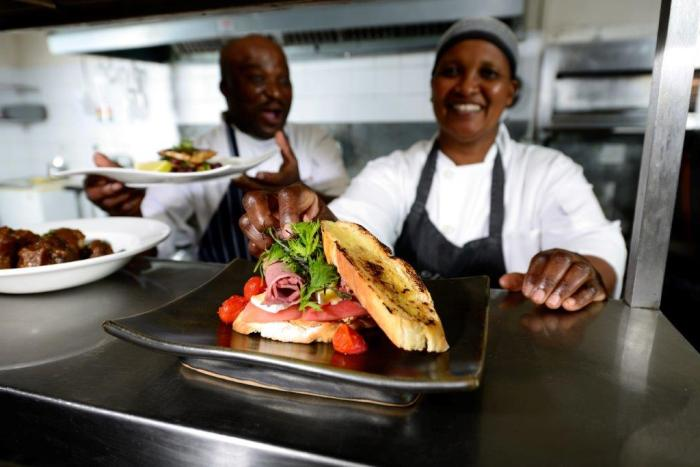 Both traditional and international dishes are showcased at Sabi Sabi.
