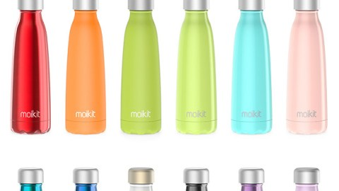 The Seed Bottle will help you keep hydrated. (Photo: Moikit.)
