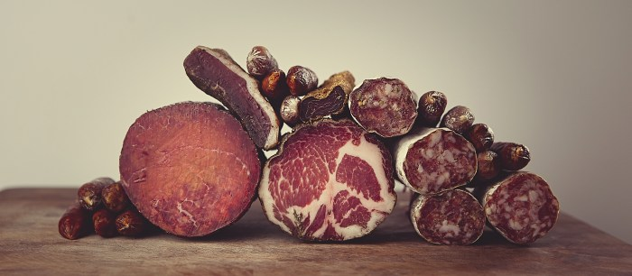 Describing Rutland's produce as salamis and air-dried meats is accurate, if somewhat of an understatement.