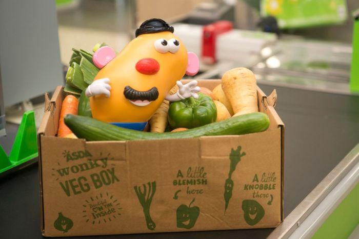 The new Mr. Potato Head is truer to his ugly produce self. (Photo: Hasbro.)