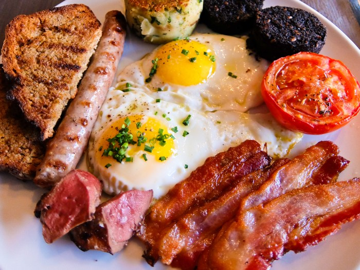EVOO Irish breakfast