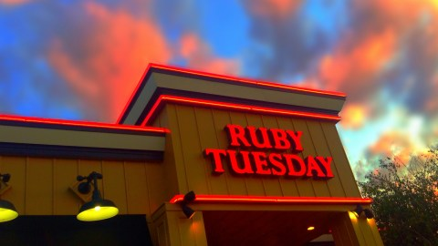 Good bye, Ruby Tuesday? (Photo: jeepersmedia/Flickr.)