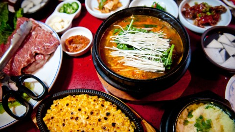 This exhibition takes a look at Korean cuisine at its purest. (Photo: Matt Rodbard.)