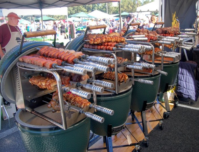 Eggtoberfest Is The Comic Con For Big Green Egg Heads Food Republic