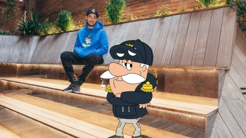 Cap'n Crunch and New York clothing brand Kith collaborated in early October. (Graphic courtesy of Kith.)