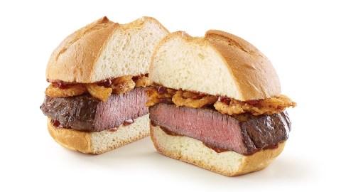 arby's venison sandwich