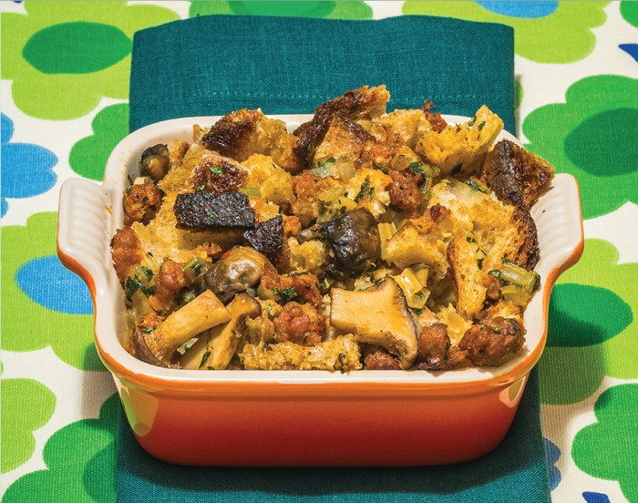 sausage and mushroom stuffing recipe