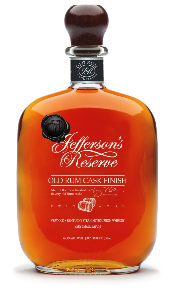 Jefferson's Reserve Old Rum Cask Finish bottle