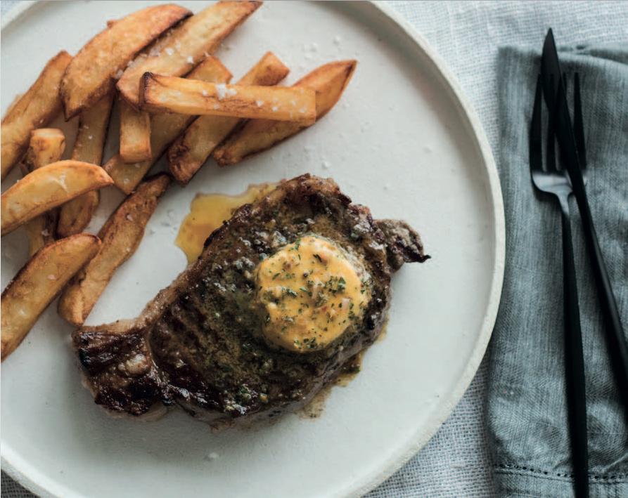 Sizzling A Cafe De Paris Butter Recipe For A Better Steak