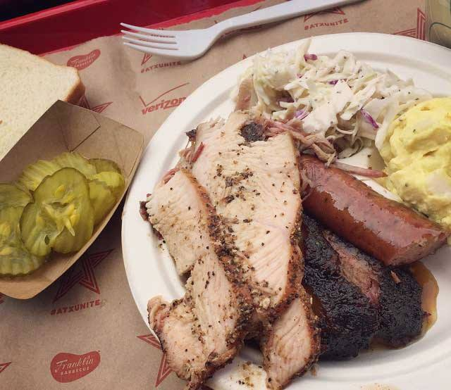 Expect Franklin Barbecue at the Hot Luck, but keep your eyes peeled for more. (Photo: Franklin Barbecue/Facebook.)
