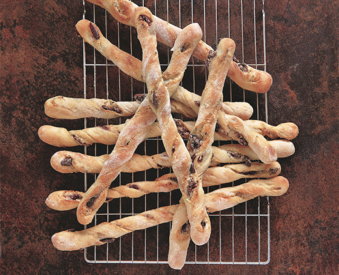 herb and romano breadsticks