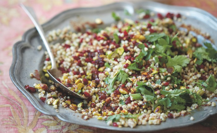 Buckwheat Salad With Barberries