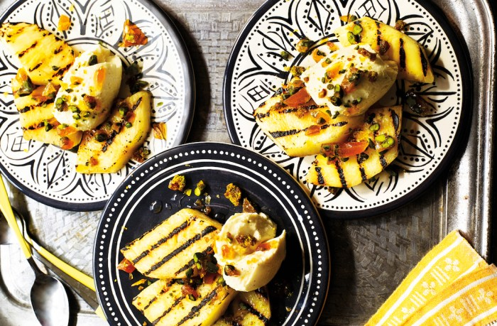 chargrilled pineapple