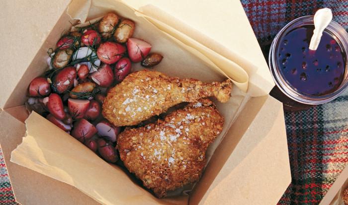 Cornflake Fried Chicken