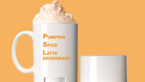 pumpkin spice deodorant
