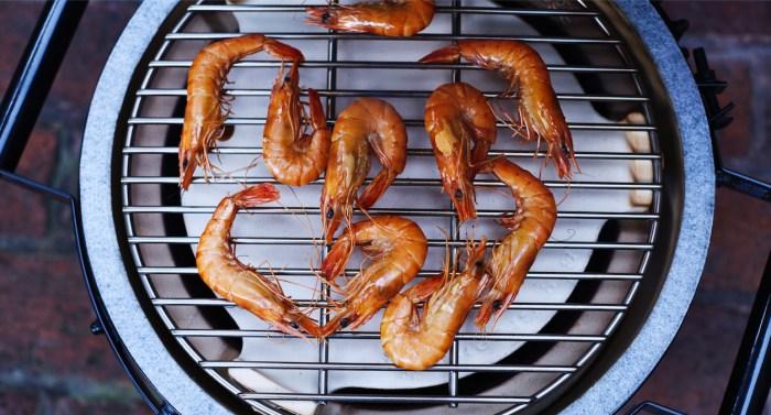 Hot-Smoked Shrimp