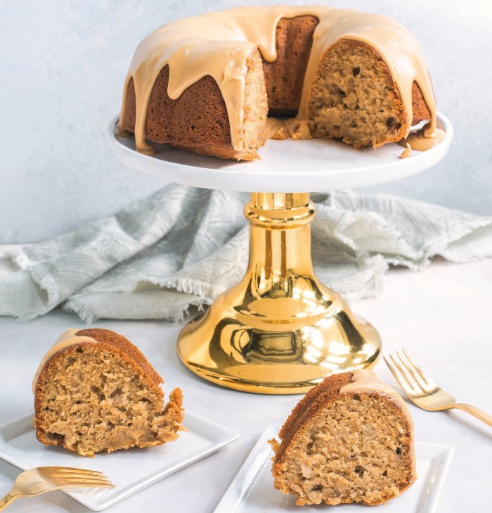 ginger apple cake
