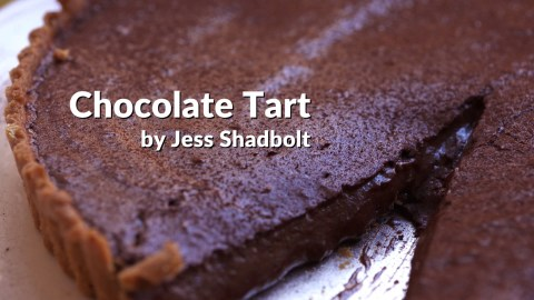 chocolate tart from King in NYC photo