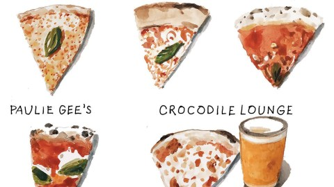 pizza drawings