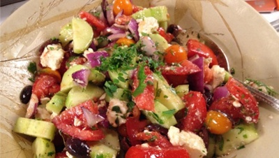 Try This Healthy Greek Salad