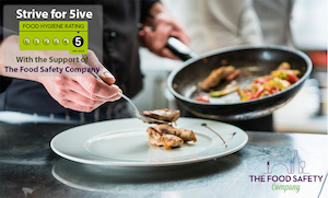 Strive for 5 with Food Safety Company