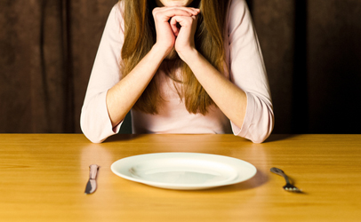 http://www.dreamstime.com/stock-photo-girl-empty-plate-image25064560